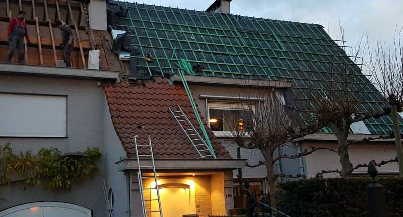 isolatie hellend dak Wilrijk