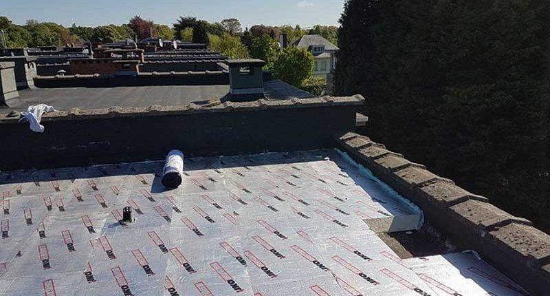 plat dak isolatie wilrijk