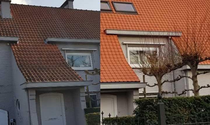 dakrenovatie hellend dak antwerpen